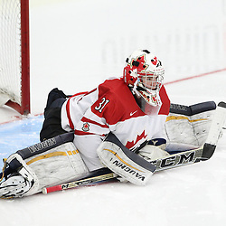 COBOURG, - Dec 15, 2015 -  Game #5 - Canada West vs the United States at the 2015 World Junior A Challenge at the Cobourg Community Centre, ON. Matthew Murray #31 of Team Canada West during the second period.(Photo: Tim Bates / OJHL Images)