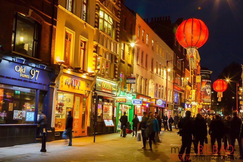 Chinatown. London, England, United kingdom, Europe.