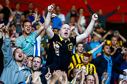 Vitesse Arnhem fans cheers as the players enter the stadium - Mandatory by-line: Jason Brown/JMP - Mobile 07966386802 - 31/07/2015 - SPORT - FOOTBALL - Southampton, St Mary's Stadium - Southampton v Vitesse Arnhem - Europa League