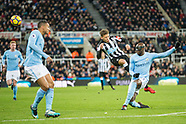 Newcastle United v Manchester City 27/12/2017