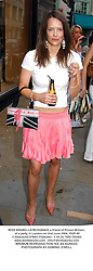 MISS ARABELLA MUSGRAVE a friend of Prince William, at a party in London on 2nd June 2004.PUR 60