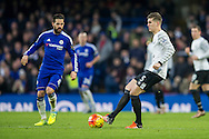 John Stones of Everton during the Barclays Premier League match between Chelsea and Everton at Stamford Bridge, London, England on 16 January 2016. Photo by Salvio Calabrese.