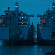 Ships near Ruston Way - Tacoma, WA