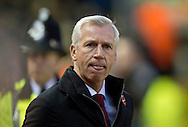 Crystal Palace manager Alan Pardew before the Barclays Premier League match at Anfield, Liverpool<br /> Picture by Russell Hart/Focus Images Ltd 07791 688 420<br /> 08/11/2015