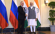 India: Russian President Putin Visit to India, 15 Oct. 2016