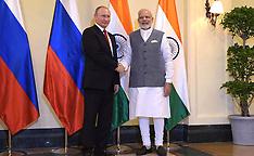 India: Russian President Putin Visit to India, 15 Oct. 2016