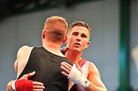 Alexis Vastine / Aymeric Huart - Amateur moyen - 15.05.2014 - Boxe - Championnat de France des Legers - Pont Audemer<br /> Photo : Aurelien Meunier / Icon Sport