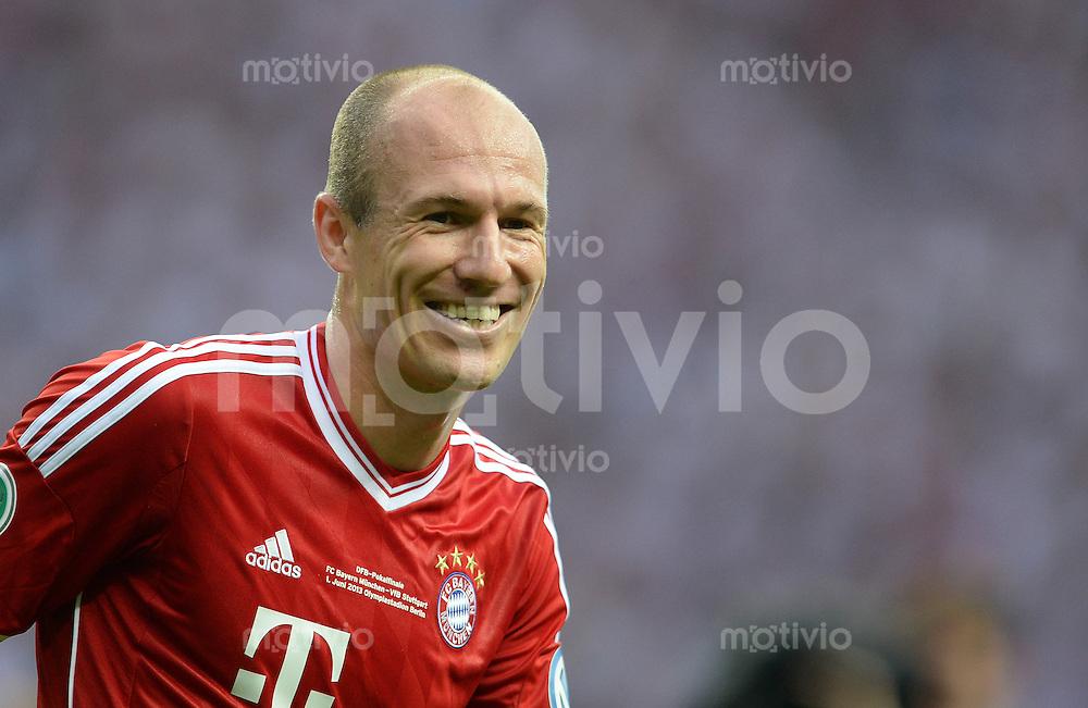 FUSSBALL       DFB POKAL FINALE        SAISON 2012/2013 FC Bayern Muenchen - VfB Stuttgart    01.06.2013 Arjen Robben (FC Bayern Muenchen)