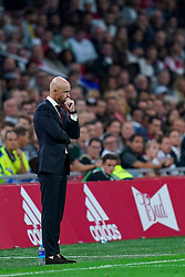 13-08-2019 NED: UEFA Champions League AFC Ajax - Paok Saloniki, Amsterdam<br />  Ajax won 3-2 and they will meet APOEL in the battle for a group stage spot / Coach Erik ten Hag # of Ajax
