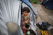 Stucked refugees in Idomeni, 13.03.16