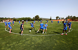 Bristol Rovers train on their first day in Portugal - Mandatory by-line: Robbie Stephenson/JMP - 18/07/2017 - FOOTBALL - Colina Verde Golf & Sports Resort - Moncarapacho, England - Sky Bet League One