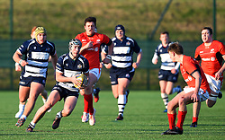 Sol Hutchins (Clifton College) of Bristol Rugby Academy U18 - Mandatory by-line: Paul Knight/JMP - 21/01/2017 - RUGBY - SGS Wise Campus - Bristol, England - Bristol Academy U18 v Saracens Academy U18 - Premiership Rugby Academy U18 League