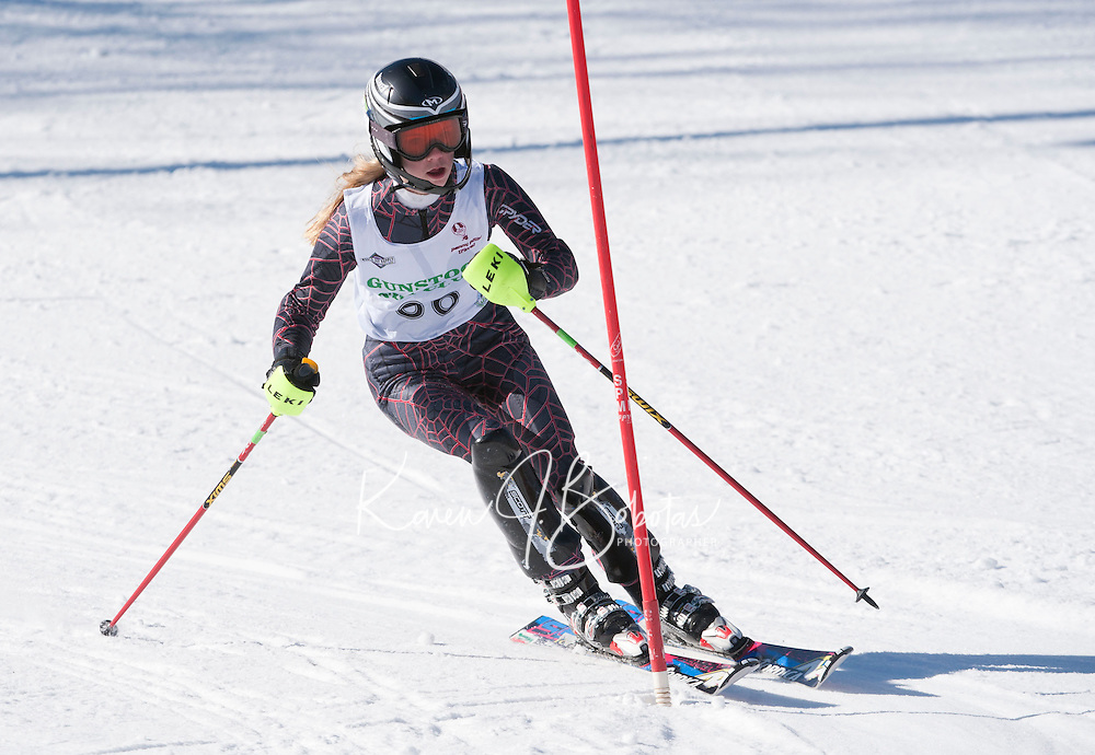 Tecnica Cup Finals at Gunstock Ladies 1st run February 18, 2011.