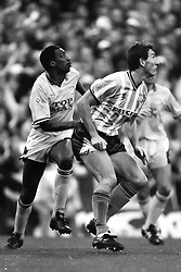 Terry Butcher Coventry City, Coventry v Leeds United, First Division, Highfield Road,  1991