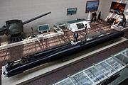 Tokyo, April 10 2014 - Inside Yushukan, Yasukuni's war museum.