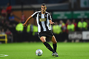 Notts County defender Haydn Hollis (6) during the Pre-Season Friendly match between Notts County and Nottingham Forest at Meadow Lane, Nottingham, England on 19 July 2017. Photo by Jon Hobley.