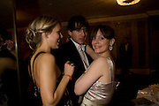 GINNIE FRASER, RICHARD DENNEN AND SANDRINE JANET. The Royal Caledonian Ball 2008. In aid of the Royal Caledonian Ball Trust. Grosvenor House. London. 2 May 2008.  *** Local Caption *** -DO NOT ARCHIVE-© Copyright Photograph by Dafydd Jones. 248 Clapham Rd. London SW9 0PZ. Tel 0207 820 0771. www.dafjones.com.