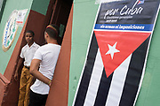 Election day in Cuba to decide the members of the National Assembly who later will elect Miguel Diaz-Canel as the new President of the Country, in Trinidad, Cuba.