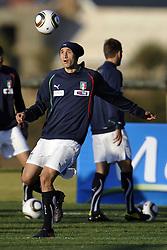 09.06.2010, .Centurion, Johannesburg, RSA, FIFA WM 2010, Italien Training im Bild Giorgio Chiellini., EXPA Pictures © 2010, PhotoCredit: EXPA/ InsideFoto/ G. Perottino / SPORTIDA PHOTO AGENCY