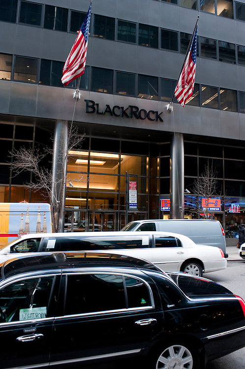 BlackRock headquarters on 52nd street in Manhattan, New York City. The company occupies many floors in two buildings on the same block..Blackrock is the world's largest money managing company. According to Fortune magazine 'With more than $3 trillion in assets, C.E.O. Larry Fink and his team at BlackRock are the world's largest money managers'. According to BlackRock's own website: BlackRock is one of the world's leading providers of investment, advisory and risk management solutions.