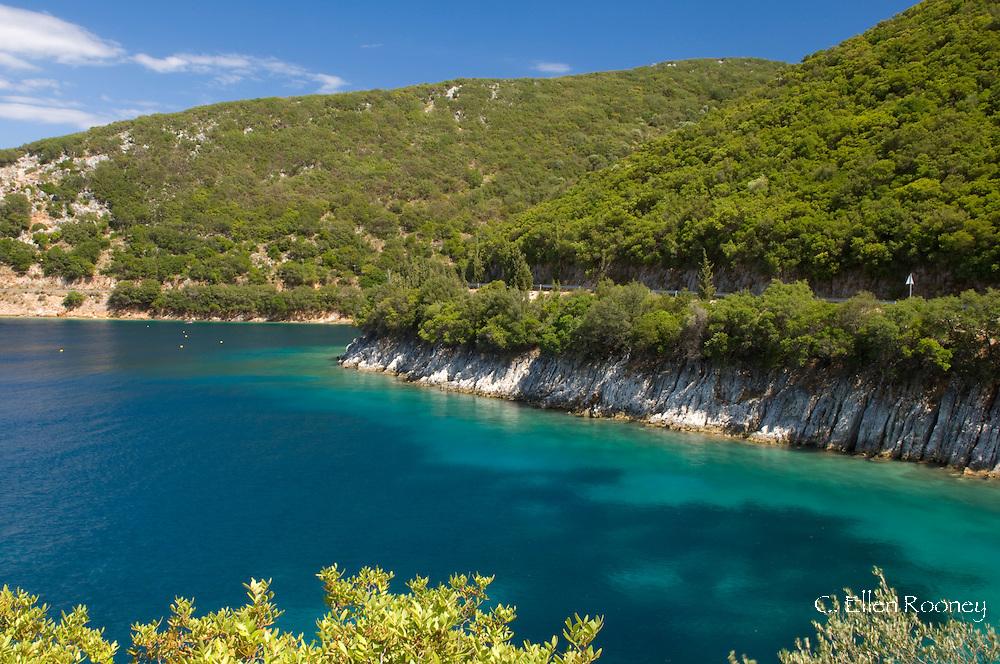Shinari Bay near Frikes, Ithaca, The Ionian Islands, Greece