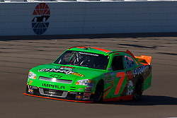 Mar 9, 2012; Las Vegas, NV, USA; Nationwide Series driver Danica Patrick (7) during practice for the Sam's Town 300 at Las Vegas Motor Speedway. Mandatory Credit: Jason O. Watson-US PRESSWIRE