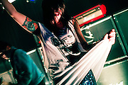 Sleigh Bells performing for a sold out crowd at The Firebird in Saint Louis, Missouri on October 28th, 2010.