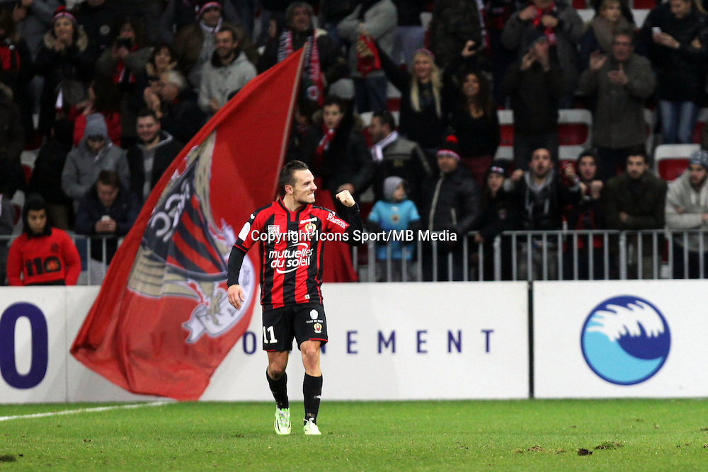 Eric BAUTHEAC  - 23.01.2015 - Nice / Marseille - 22eme journee de Ligue 1<br />