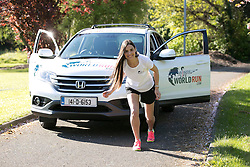 No repro Fee: Model Alison Canavan is encouraing last minute runners to join them in the Wings For Life World Run this Sunday, May 4th in Killarney, in aid of spinal cord research. You can still sign up by phone on 01-6436406 or at the registration area on Saturday and Sunday. Details on www.wingsforlifeworldrun.com Credit: Andres Poveda