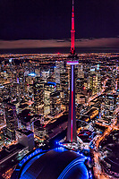 Entertainment District feat. CN Tower, Rogers Centre & Ripley's Aquarium of Canada
