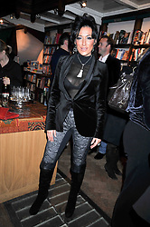NANCY DELL'OLIO at a party to celebrate the publication of 'A Matter of Life and Death' by Ronni Ancona and Alistair McGowan held at Daunt Books, 83 Marylebone High Street, London on 8th October 2009.