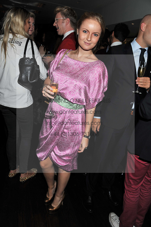 RASHA SAID at a party to relaunch the Met Bar at 19 Old Park Lane, London W1 on 5th October 2011.