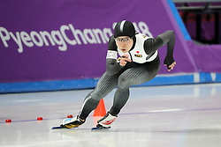 February 18, 2018 - Gangneung, South Korea - Gold medal winner NAO KODAIRA of Japan during Speed Skating: Ladies' 500m at Gangneung Oval at the 2018 Pyeongchang Winter Olympic Games. (Credit Image: © Scott Mc Kiernan via ZUMA Wire)