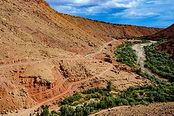 The mountain road leading to the village of Ta&iuml;faste in southern Morocco<br /> <br /> (c) Andrew Wilson | Edinburgh Elite media