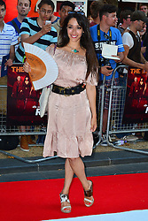 Red 2 UK film premiere.<br /> Oona Chaplin during the premiere of the sequel to 2010's graphic novel adaption, about a group of retired assassins. <br /> Empire Leicester Square<br /> London, United Kingdom<br /> Monday, 22nd July 2013<br /> Picture by Nils Jorgensen / i-Images