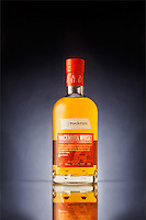 Product photography project featuring Mackmyra whisky