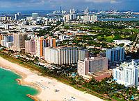 Aerial photographs of Miami South Beach Florida  Florida Beaches