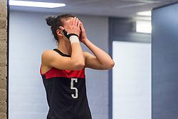 05-04-2017 NED:  CEV U18 Europees Kampioenschap vrouwen dag 4, Arnhem<br /> Nederland - Turkije 3-1 / Nederland doet zeer goede zaken en kan zich met winst op Itali&euml; zeker stellen van een halve finaleplaats - Merve Atlier #5