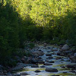 Nash Stream in the Nash Stream State Forest in Stratford, New Hampshire.
