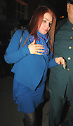15.OCTOBER.2009 - LONDON<br /> <br /> PRISCILLA PRESLEY LEAVING ANNABELL'S PRIVATE MEMBERS CLUB IN MAYFAIR AT 3.15AM AFTER PARTYING WITH DAUGHTER LISA-MARIE.<br /> <br /> BYLINE MUST READ : EDBIMAGEARCHIVE.COM<br /> <br /> *THIS IMAGE IS STRICTLY FOR UK NEWSPAPERS AND MAGAZINES ONLY FOR WORLD WIDE SALES AND WEB USE PLEASE CONTACT EDBIMAGEARCHIVE - 0208 954 5968*