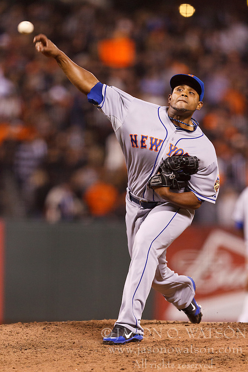 SAN FRANCISCO, CA - JULY 30: Ramon Ramirez #52 of the New York Mets pitches against the San Francisco Giants during the seventh inning at AT&T Park on July 30, 2012 in San Francisco, California. The New York Mets defeated the San Francisco Giants 8-7 in 10 innings. (Photo by Jason O. Watson/Getty Images) *** Local Caption *** Ramon Ramirez