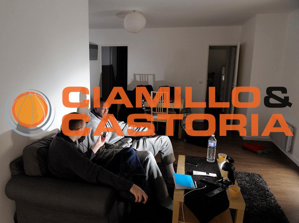 DESCRIZIONE : Championnat de France Pro a Gravelines GIOCATORE : Pape Sy SQUADRA : Gravelines DATA : 2012-02-11CATEGORIA : SPORT :  AUTORE : AGENZIA CIAMILLO & CASTORIA/G.Ciamillo