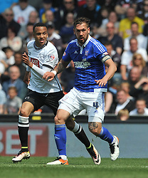 LUKE CHAMBERS IPSWICH TOWN, Derby County v Ipswich Town Championship, IPro Stadium, Saturday 7th May 2016. Photo:Mike Capps