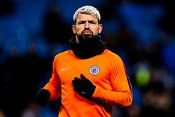 Sergio Aguero of Manchester City - Mandatory by-line: Robbie Stephenson/JMP - 12/03/2019 - FOOTBALL - Etihad Stadium - Manchester, England - Manchester City v Schalke - UEFA Champions League, Round of 16, 2nd leg