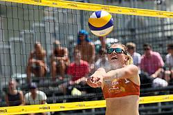 Anika Krebs of Germany at Ljubljana Beach Volley 2017, on July 21, 2017 in Ljubljana, Slovenia. Photo by Matic Klansek Velej / Sportida
