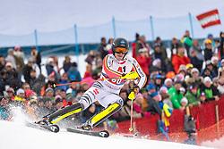 26.01.2020, Streif, Kitzbühel, AUT, FIS Weltcup Ski Alpin, Slalom, Herren, 2. Lauf, im Bild Anton Tremmel (GER) // Anton Tremmel of Germany in action during his 2nd run in the men's Slalom of FIS Ski Alpine World Cup at the Streif in Kitzbühel, Austria on 2020/01/26. EXPA Pictures © 2020, PhotoCredit: EXPA/ Johann Groder