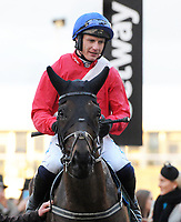 National Hunt Horse Racing - 2020 Cheltenham Festival - Wednesday, Day Two (Ladies Day)<br /> <br /> P Townend on Ferny Hollow after winning the race in the 17.30 Weatherbys Champion Bumber (Flat race) (Grade 1), at Cheltenham Racecourse.<br /> <br /> COLORSPORT/ANDREW COWIE