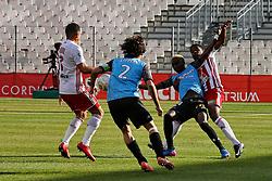 January 27, 2018 - Ajaccio, CORSE, FRANCE - Manuel CABIT (ACA) vs Mayoro NDOYE  (Credit Image: © Panoramic via ZUMA Press)