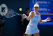 Vera Zvonareva of Russia in action during the second round at the 2018 US Open Grand Slam tennis tournament, at Billie Jean King National Tennis Center in Flushing Meadow, New York, USA, August 30th 2018, Photo Rob Prange / SpainProSportsImages / DPPI / ProSportsImages / DPPI