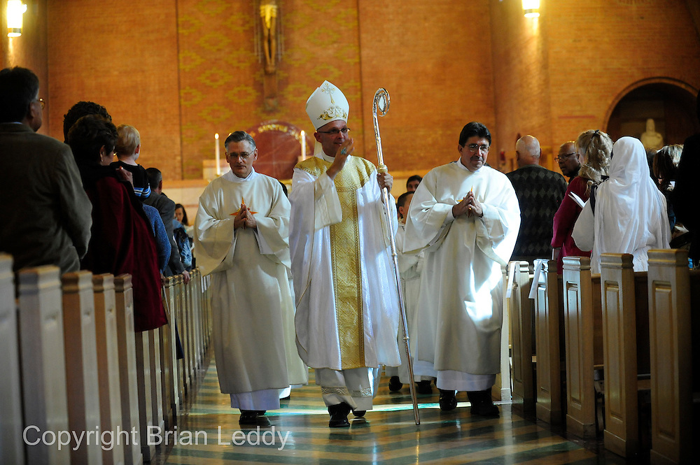 Randolph Copeland and Pat Valdez Deacon Ordination Ceremony at Sacred Heart Cathedral
